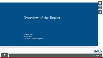 Vimeo link - Overview of the Report excerpt