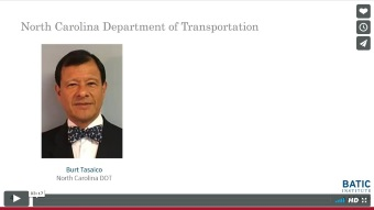 Vimeo link - North Carolina Department of Transportation excerpt