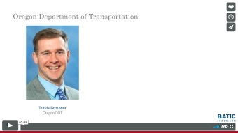 Vimeo link - Oregon Department of Transportation excerpt